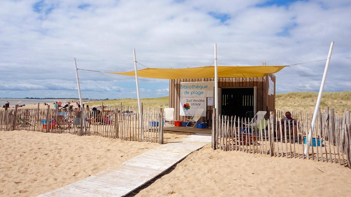 Bibliothèque de plage