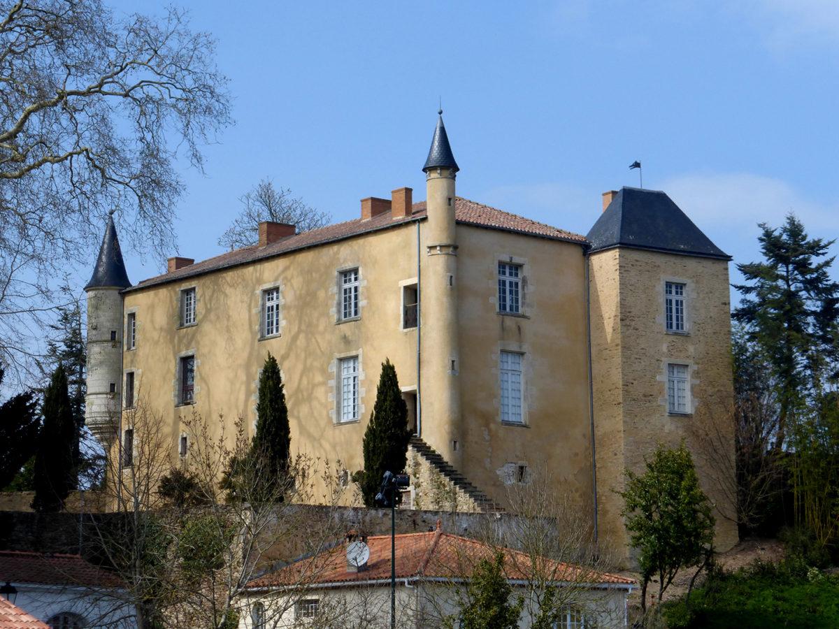 Château Marie du Fou à Mareuil-sur-Lay-Dissais