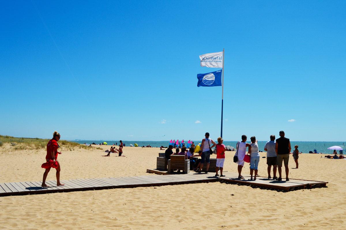 Des plages de La Faute-sur-Mer sont labellisées Pavillon Bleu
