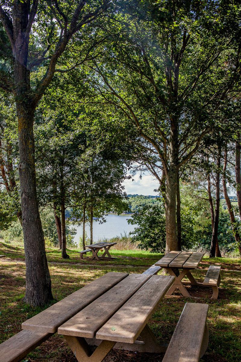 Pique-nique à proximité du Lac du Marillet
