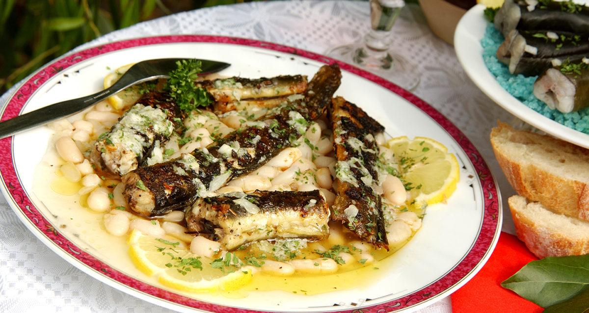 Anguilles du marais et mogettes