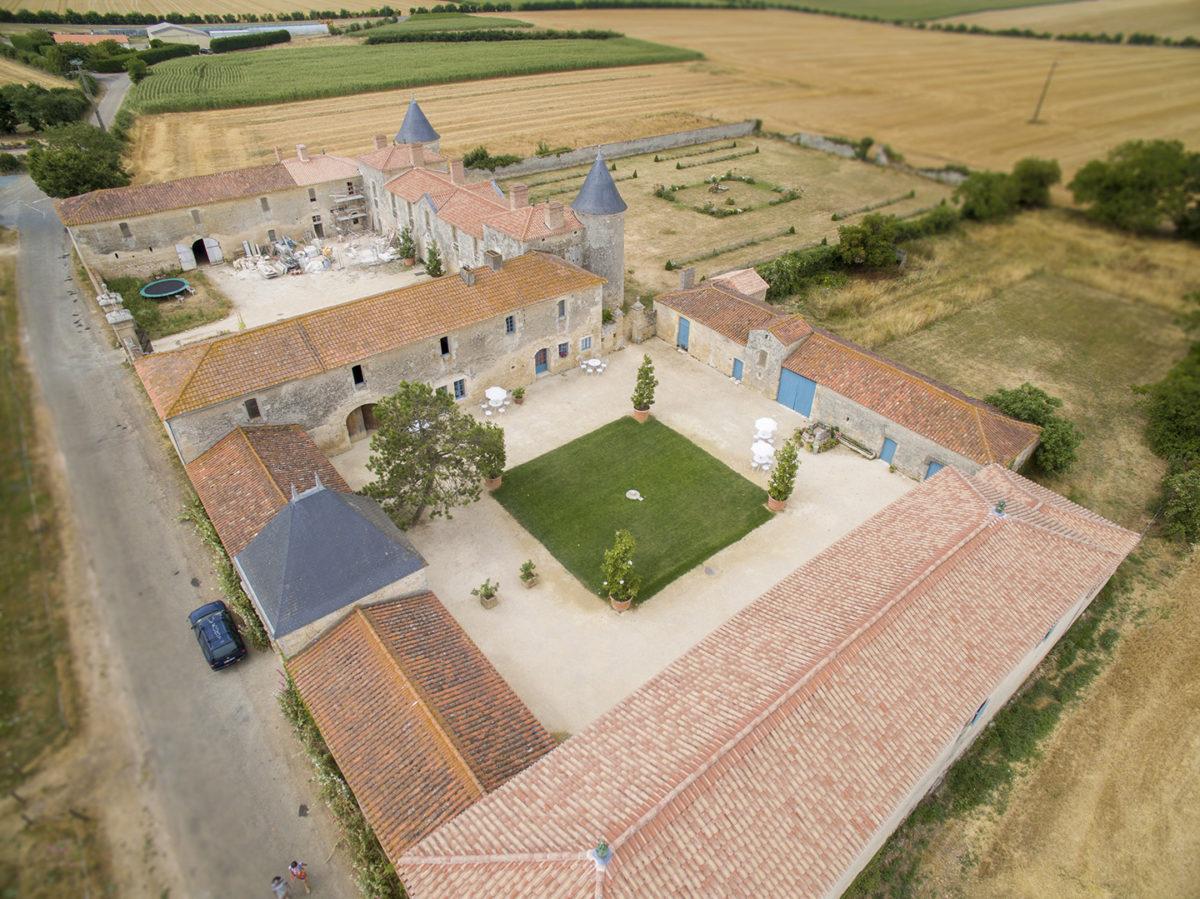 Château de la Chevalerie à Sainte-Gemme-la-Plaine